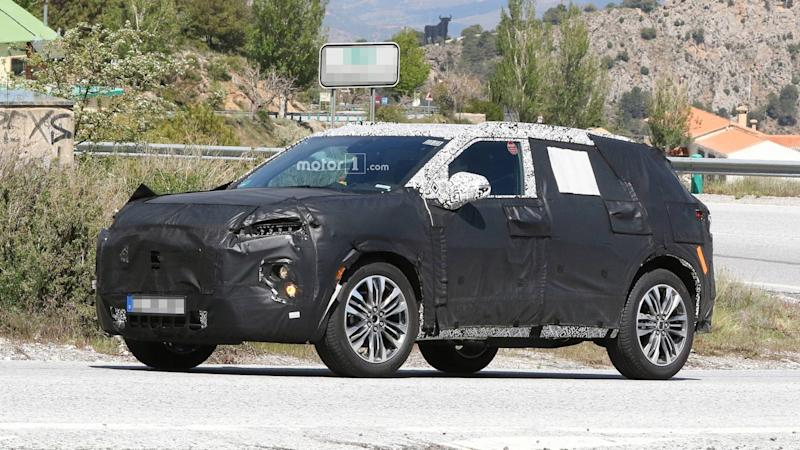 Chevy Blazer New Spy Photos