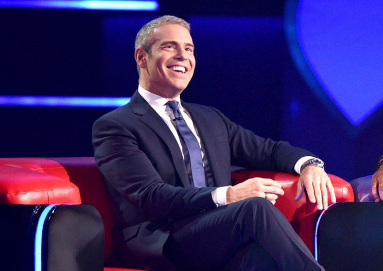 Host Andy Cohen in the series premiere of Love Connection. (Photo: Michael Becker/FOX)