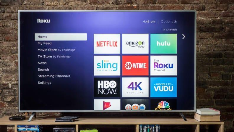 The Roku Ultra has an easy-to-navigate menu and convenient remote.