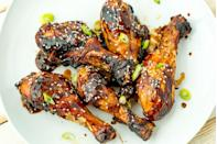 """<p>This sauce is <em>amazing</em>.</p><p>Get the recipe from <a href=""""https://www.delish.com/cooking/recipe-ideas/recipes/a47358/sticky-grilled-chicken-recipe/"""" rel=""""nofollow noopener"""" target=""""_blank"""" data-ylk=""""slk:Delish"""" class=""""link rapid-noclick-resp"""">Delish</a>.</p>"""