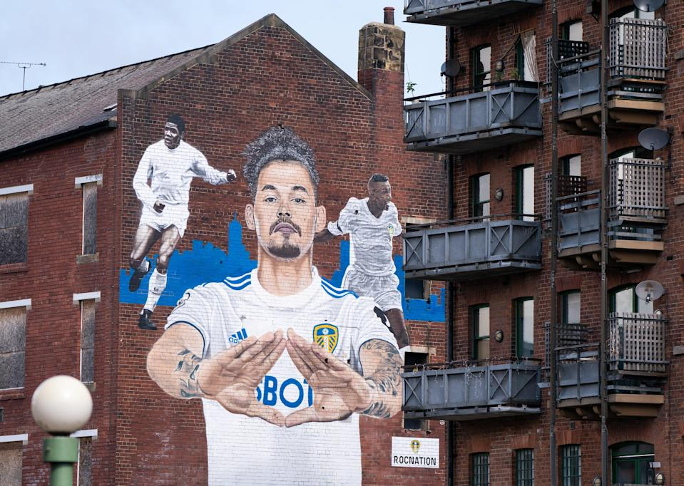 Kalvin Phillips mural (PA Wire)