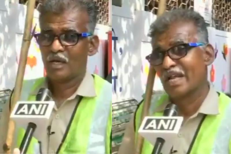 Twitter Hails Sanitation Worker's Parody Song to Spread Awareness on Waste Disposal