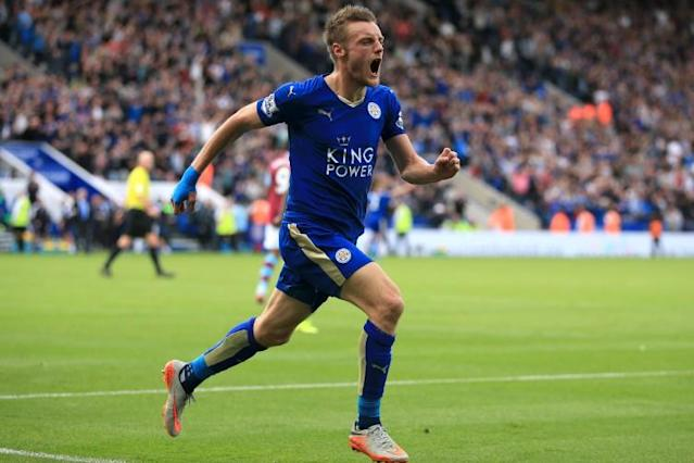 The moment Jamie Vardy scored a stunner against United… way back in 2009