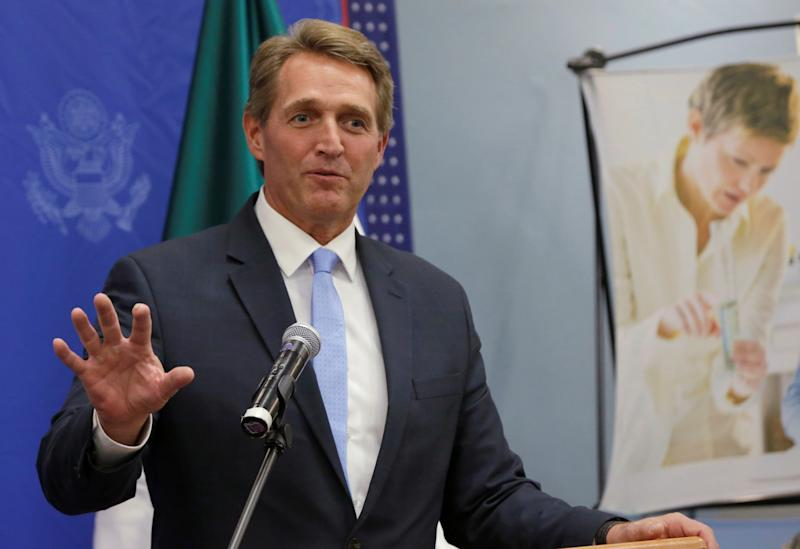 Sen. Jeff Flake said hefeels out of step with today's GOP.