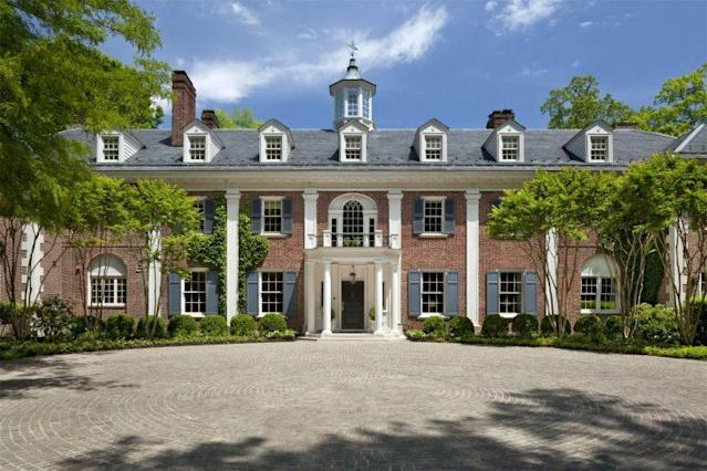 Merrywood is the private estate in McLean, Va., where Jacqueline Kennedy grew up. (Photo: Sotheby's)