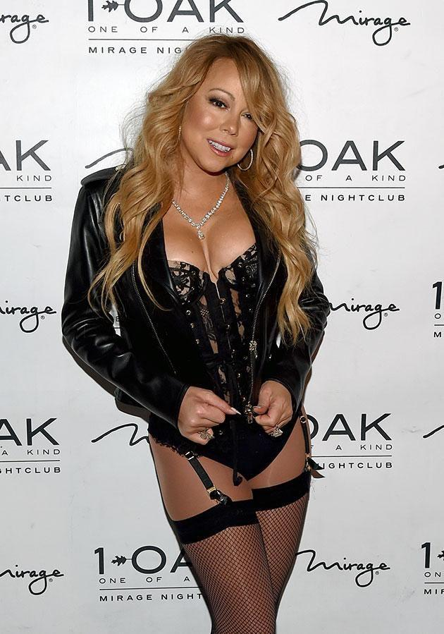 Mariah also did a stint in Sin City. Source: Getty