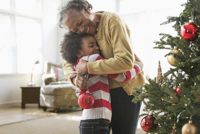 The Girl Scouts of America have caused a big debate after saying children shouldn't be forced to hug their relatives at Christmas. (Photo: Getty Images)