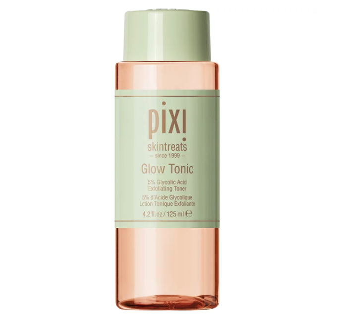 """<p><strong>Pixi</strong></p><p>ulta.com</p><p><strong>$18.00</strong></p><p><a href=""""https://go.redirectingat.com?id=74968X1596630&url=https%3A%2F%2Fwww.ulta.com%2Fglow-tonic%3FproductId%3Dpimprod2013446&sref=https%3A%2F%2Fwww.marieclaire.com%2Fbeauty%2Fg35567295%2Fglycolic-acid-toners%2F"""" rel=""""nofollow noopener"""" target=""""_blank"""" data-ylk=""""slk:SHOP IT"""" class=""""link rapid-noclick-resp"""">SHOP IT</a></p><p>This affordable options has a cult following for a reason. The bright, botanical blend contains aloe vera and ginseng to nourish skin, while glycolic acid brightens a dull complexion. </p>"""
