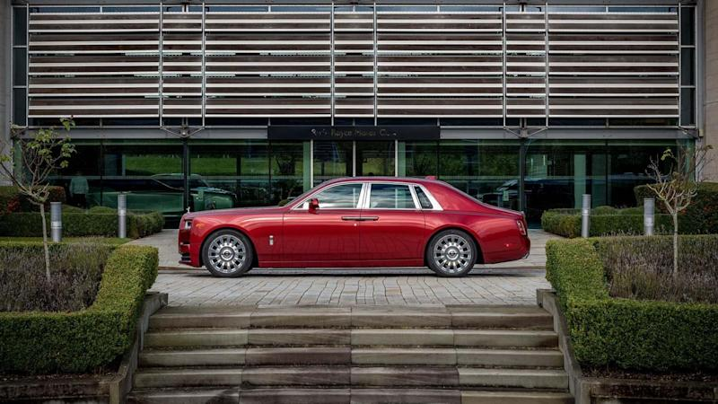 Rolls-Royce Bespoke Red Phantom