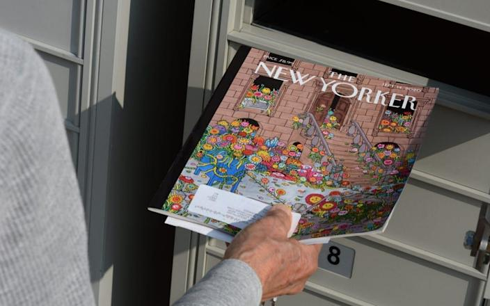 The New Yorker is one of America's most prestigious and respected magazines - Getty