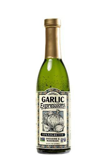 """<p><strong>Garlic Expressions</strong></p><p>amazon.com</p><p><strong>$24.67</strong></p><p><a href=""""https://www.amazon.com/dp/B00CJ8TAPW?tag=syn-yahoo-20&ascsubtag=%5Bartid%7C2140.g.26932031%5Bsrc%7Cyahoo-us"""" rel=""""nofollow noopener"""" target=""""_blank"""" data-ylk=""""slk:Shop Now"""" class=""""link rapid-noclick-resp"""">Shop Now</a></p><p>We know you totally make keto bread. This is what your oil dipping dreams are made of. This dressing is super garlic-y but also nicely tangy from the apple cider vinegar. Also great tossed with steamed vege. (Try broccoli!) One note: there is a small amount of added cane sugar in this dressing, so make sure it fits in line with everything else you're eating that day. </p><p><em>Per 1 tbsp serving: 60 calories, 5 g fat (0g saturated), 2g carbs, 2g sugar, 220 mg sodium, 0g fiber, 0g protein </em> </p>"""