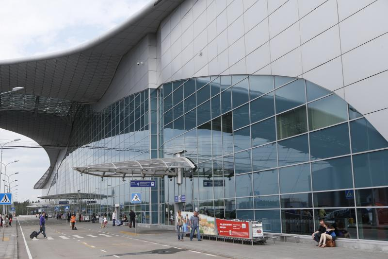 In this photo taken on Monday, June 24, 2013, shows a view of Moscow's Airport Sheremetyevo, terminal E, with a hotel for transit passengers at the transit zone inside. Leaker Snowden has been caught in legal limbo in the transit zone of Moscow's Sheremetyevo airport since his arrival from Hong Kong on June 23. The U.S. has annulled his passport, and Ecuador, where he has hoped to get asylum, says it may take months to rule on his case. Russia's President Vladimir Putin said Monday, July 1, 2013, that Snowden will have to stop leaking U.S. secrets if he wants to get asylum in Russia, but added that Snowden has no plan to stop leaking. (AP Photo/Alexander Zemlianichenko Jr)