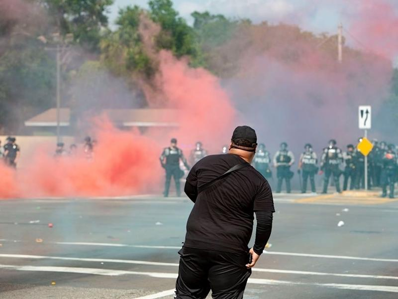 This week saw more civil unrest in cities throughout Florida including Tampa where police used smoke bombs and tear gas to keep protests from blocking the interstate.