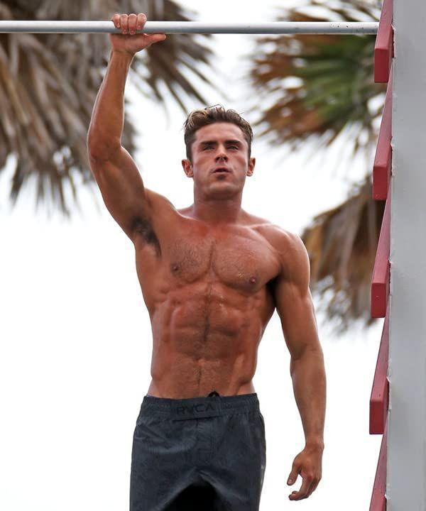 "<p>To play the part of a chiseled lifeguard in <em>Baywatch</em><em>, </em>Zac Efron <a href=""https://www.menshealth.com/uk/fitness/lifestyle/a27329436/zac-efron-baywatch/"" rel=""nofollow noopener"" target=""_blank"" data-ylk=""slk:worked out twice a day"" class=""link rapid-noclick-resp"">worked out twice a day</a>, followed a no-carb diet, and went through lifeguard training. However, he doesn't want to over glamorize his <em>Baywatch </em>body. ""For guys, that's unrealistic. I'm telling you. I got very big and buff for that movie, but I don't want people to think that's the best way to be. Like, be your size,"" he said on <em><a href=""https://www.menshealth.com/uk/fitness/lifestyle/a27329436/zac-efron-baywatch/"" rel=""nofollow noopener"" target=""_blank"" data-ylk=""slk:The Ellen DeGeneres Show"" class=""link rapid-noclick-resp"">The Ellen DeGeneres Show</a>. </em></p>"