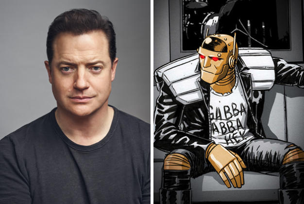 Doom Patrol Brendan Fraser To Star As Robotman In Dc Universe Tv