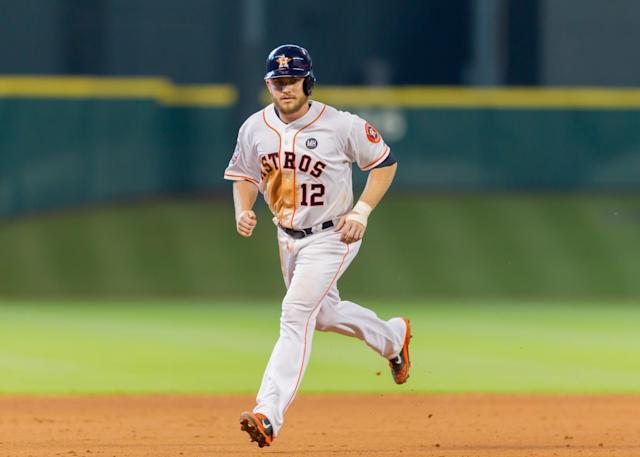Max Stassi made the majors with Houston in 2013. (Getty Images)
