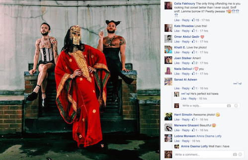 This Photo of Muslims in Drag Is Going Viral for the Best Reason After the Pulse shoot