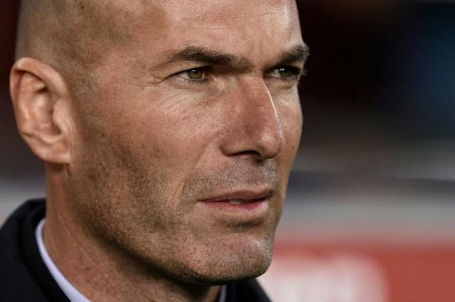Real Madrid coach Zinedine Zidane is looking forward to meeting 'best coach in the world' Pep Guardiola in the Champions League (AFP Photo/Josep LAGO)
