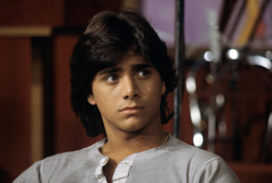 Before his famous stint on Full House, John Stamos played Blackie on General Hospital in 1983.