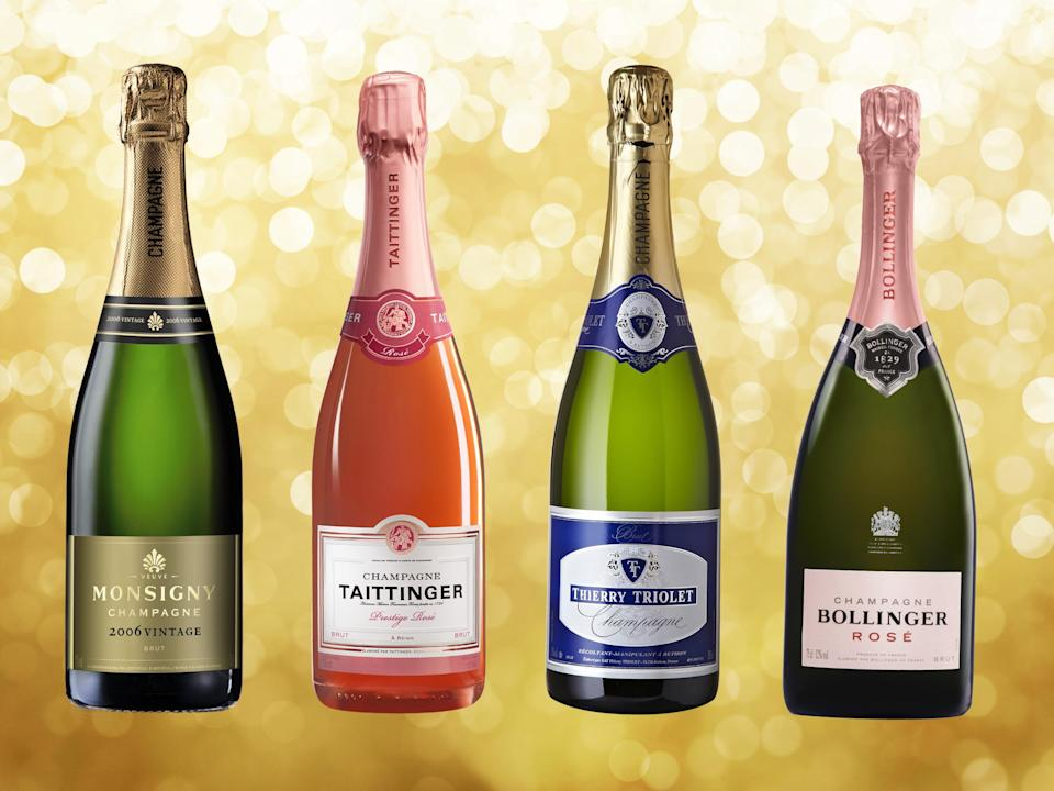 A glass of champagne makes an ideal aperitif, as the crowd-pleasing party fizz and can be easily matched to foods (The Independent/iStock)