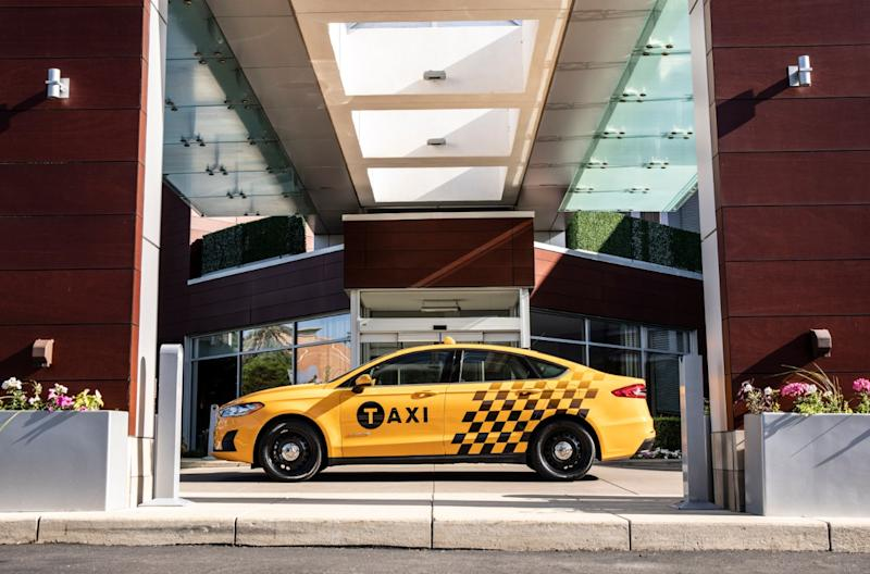 Ford's latest taxis use diesel and hybrid powertrains