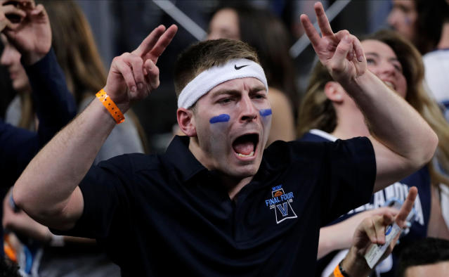 Police around Villanova have greased poles and promised felony charges for any rowdy fans who decide to punch a police horse on Monday. (AP)