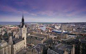 Aberdeen is one area where house prices have fallen according to the latest data
