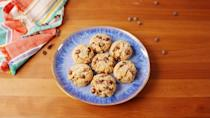 """<p>Easy to make, incredible to eat.</p><p>Get the recipe from <a href=""""https://www.delish.com/cooking/recipe-ideas/recipes/a53076/paleo-chocolate-chip-cookies-recipe/"""" rel=""""nofollow noopener"""" target=""""_blank"""" data-ylk=""""slk:Delish"""" class=""""link rapid-noclick-resp"""">Delish</a>.</p>"""