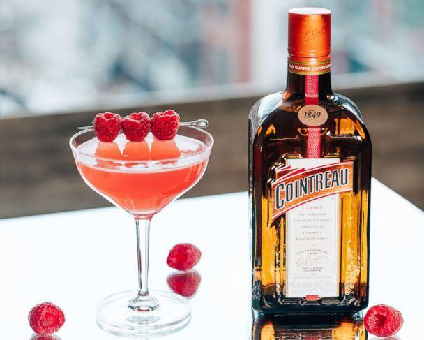 PHOTO: Sip on a sweet and bright Raspberry Royale cocktail this Valentine's Day. (Cointreau)