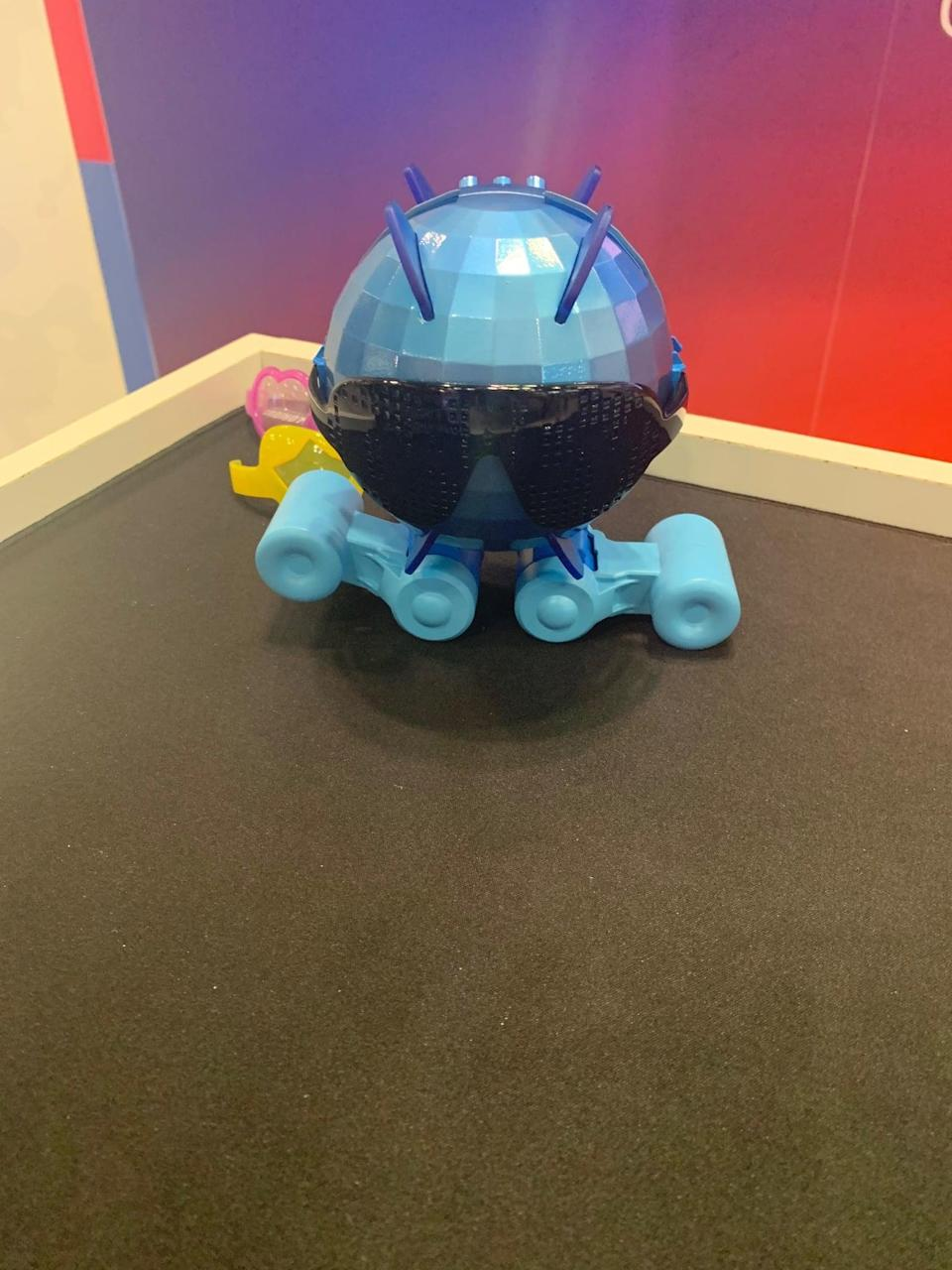 <p>Prepare to get down with Tomy Dancy Beatz ($70), an interactive dancing robot kids 6 and up are sure to obsess over. Complete with a free app, little ones can program Dancy Beatz to execute custom dance moves. Pretty neat, right? Look for it in stores in fall 2020.</p>