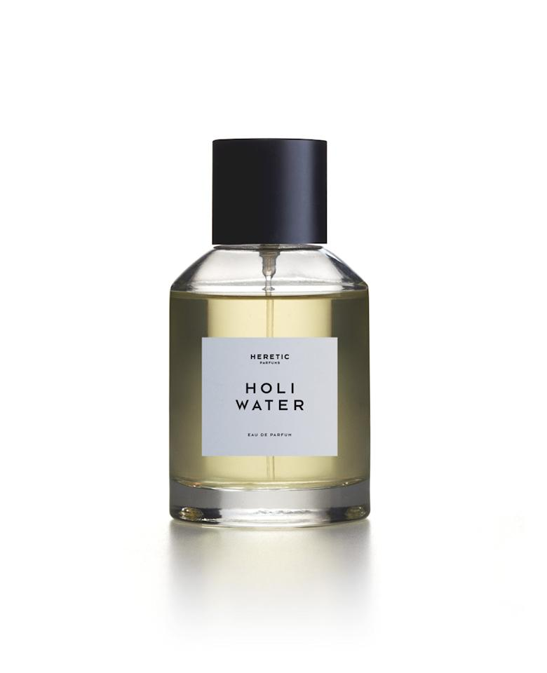 "<p>Early adopters, take note.<b> </b>The newest kid on the block is Heretic, launched just a few months ago, in April. <a href=""http://www.eonline.com/news/779244/trendsetters-at-work-heretic-parfum"">Gwyneth Paltrow</a> is already a proclaimed fan of this niche brand (depending on your side of the aisle, her endorsement makes it either very cool or already passé). Another reason perfumer Douglas Little's new line is unique is its digression from synthetic fragrances. If a heretic is someone who does not conform, then natural scents are the way to go — they smell different on each of us. ""Synthetic fragrances tend to be one-dimensional and camouflage, where naturals are multifaceted, conveying aspects of their own origins … bonding and evolving with the skin, creating a unique, olfactory signature scent,"" Little says. <b><a href=""https://www.hereticparfum.com/product/holi-water/"">Holi Water, $260</a></b> <i>(Photo: Heretic)</i></p>"