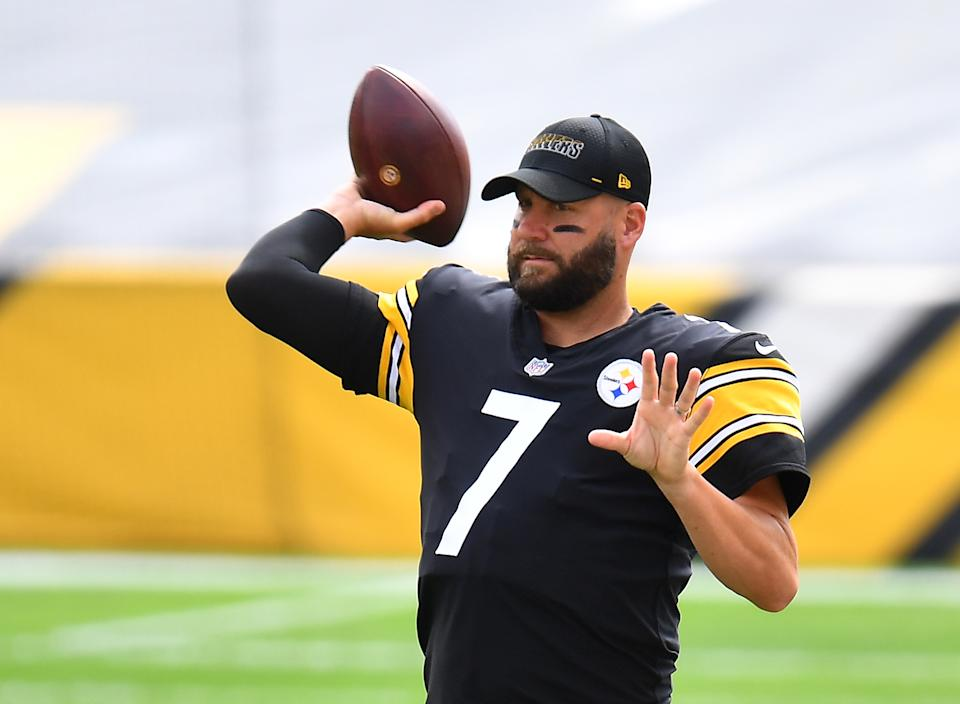 Ben Roethlisberger is irked about the adjustments required because of the Titans' COVID-19 outbreak. (Photo by Joe Sargent/Getty Images)
