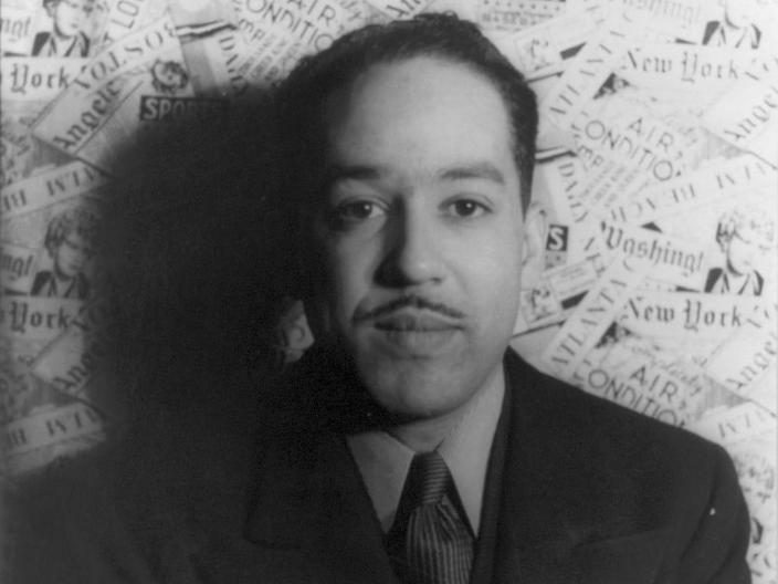 Langston Hughes in 1936