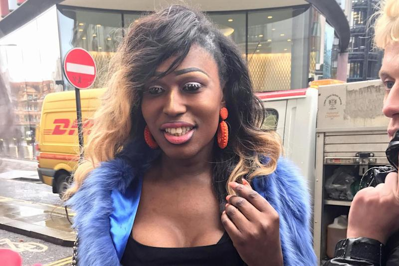 Jailed: Paris Valeti Bregazzi outside the Old Bailey in London: PA