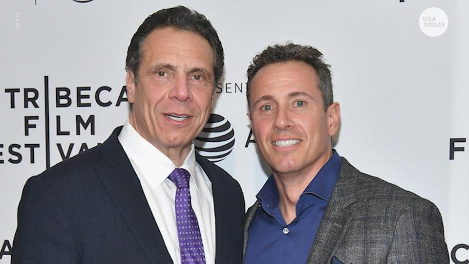 CNN's Chris Cuomo has broken his silence on his older brother, New York Gov. Andrew Cuomo resigning amid a sexual harassment scandal.