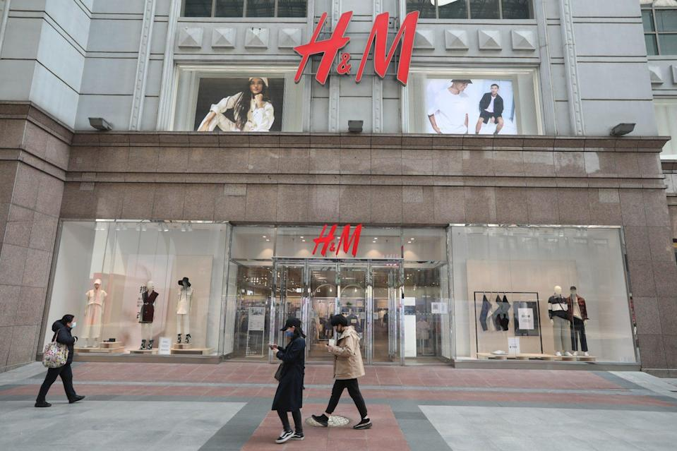 H&M suffered a backlash in China for its views on the use of Xinjiang cotton. Photo: Simon Song