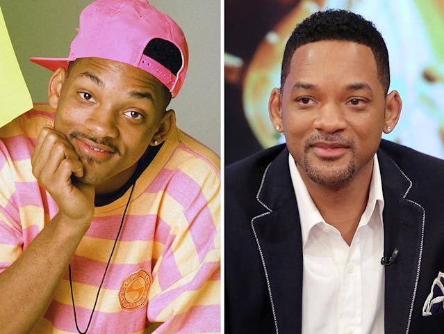"""<strong>Will Smith</strong><br><br><strong>Played:</strong> Fun-loving Will """"The Fresh Prince"""" Smith<br><br><strong>Now:</strong> After """"Fresh Prince,"""" Smith became one of Hollywood's biggest stars, thanks to blockbusters like """"Independence Day,"""" """"Bad Boys,"""" """"Men in Black,"""" """"I, Robot,"""" """"I Am Legend,"""" and """"Hancock."""" Now, he's grooming the next generation — he's starring alongside son Jaden in the sci-fi action flick """"After Earth,"""" opening in June."""