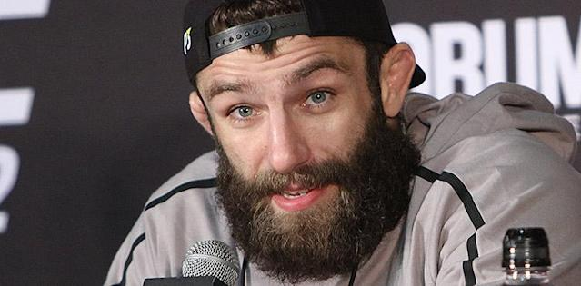 Michael Chiesa at the UFC 232 Post-Fight Press Conference