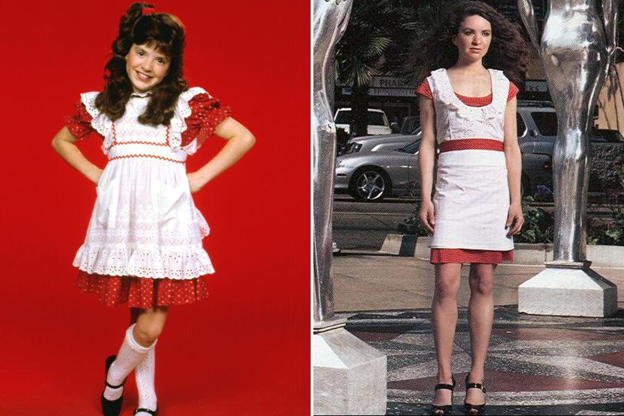 "Tiffany Brissette - The ""Small Wonder"" actress is now 38--though it appears she hasn't ditched the costume she wore as a child star/live-in robot. The actress dropped off the radar in 1991."