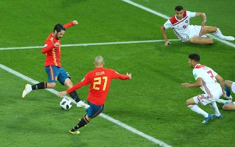 spain goal - Credit: GETTY IMAGES