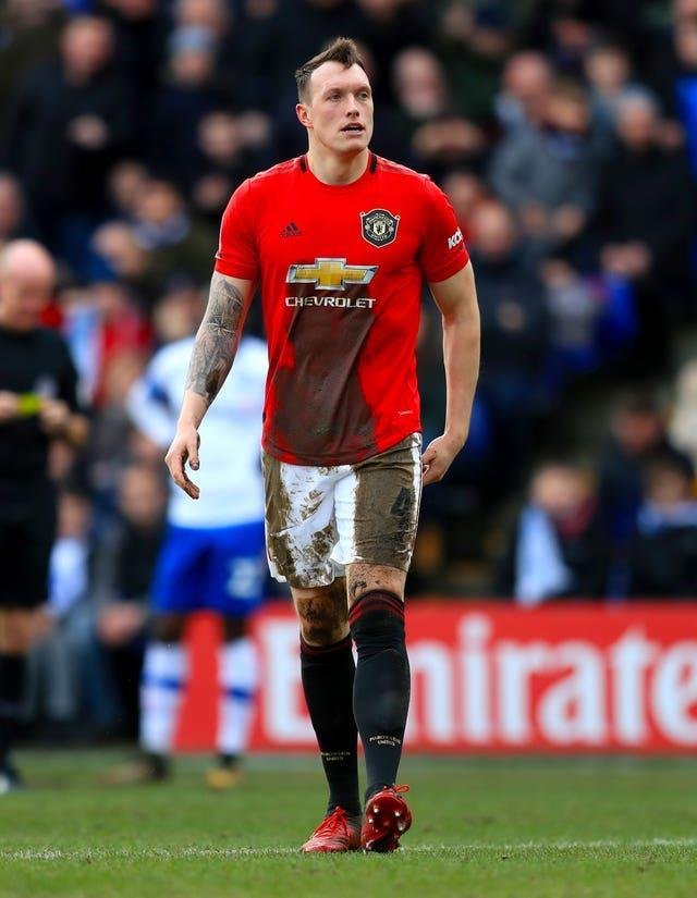 Phil Jones last appeared for Manchester United in the FA Cup at Tranmere in January 2020