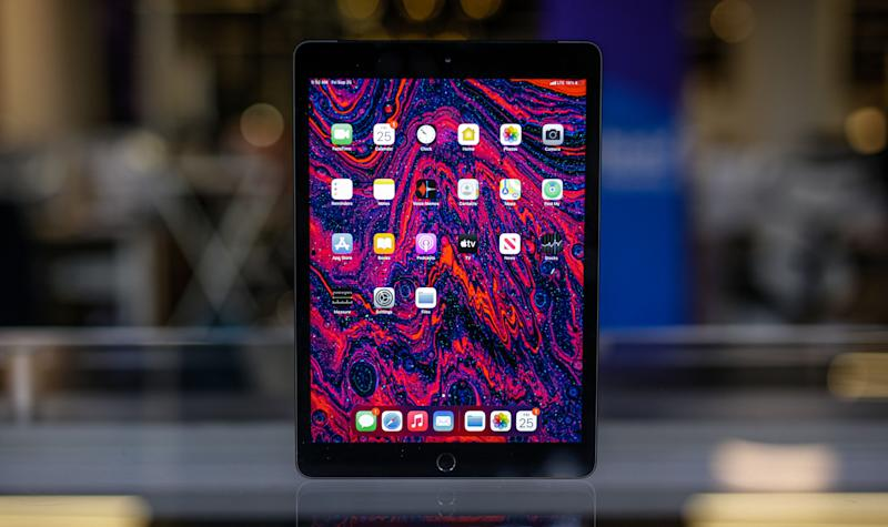 8th-generation Apple iPad