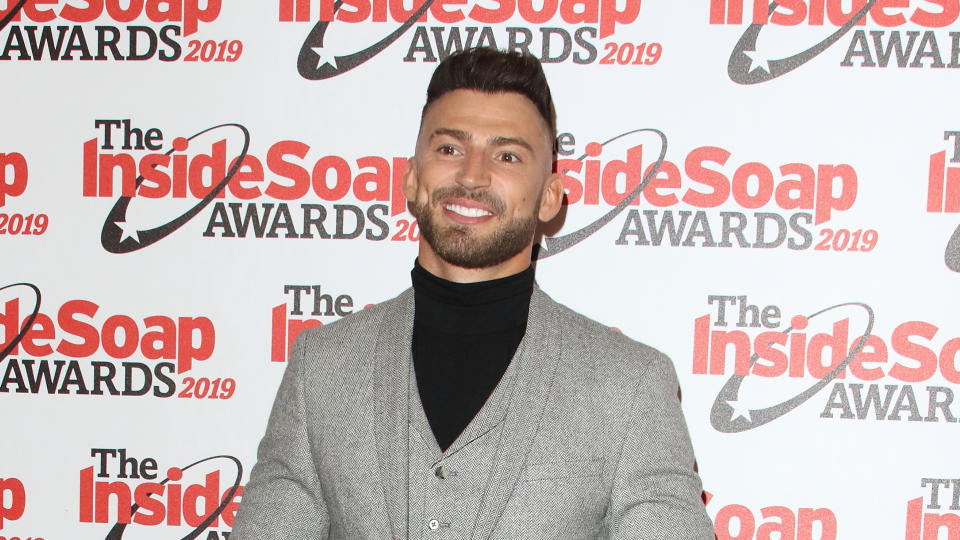Jake Quickenden has had to withdraw from the cast of 'Celebrity SAS: Who Dares Wins' after sustaining a horrific injury. (Keith Mayhew/SOPA Images/LightRocket via Getty Images)