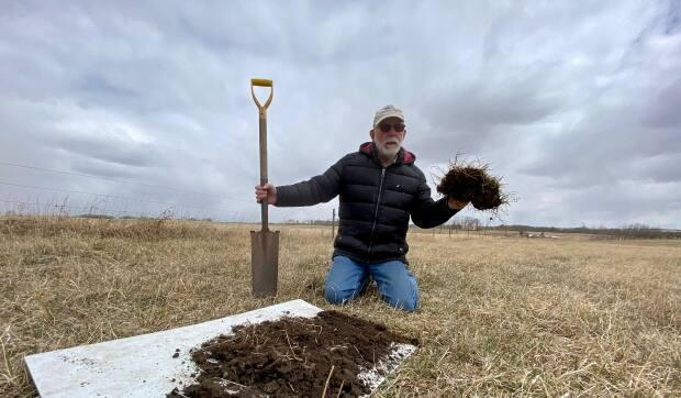 Blain Hjertaas started using regenerative farming practices in the late '90s on his cattle farm in southeastern Saskatchewan. He also teaches other farmers about the benefits of regenerative techniques.