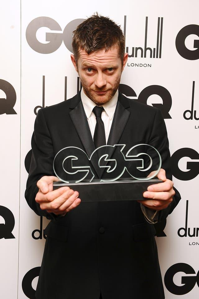 GQ Men Of The Year Awards 2010 – Press Room – London