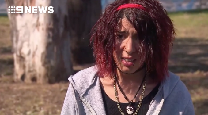 The sister of Mert Ney, who's accused of stabbing two women during a rampage in Sydney's CBD, speaks to reporters.