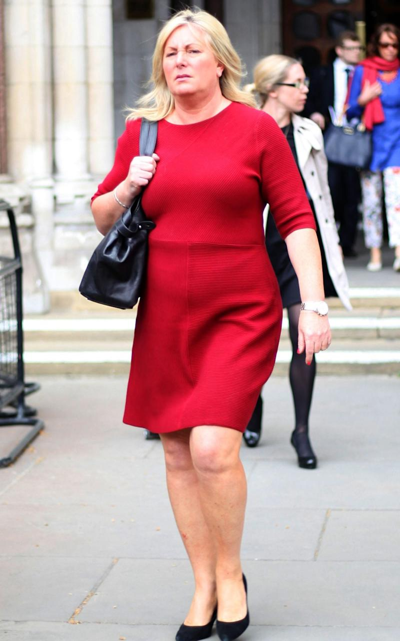 Jane Mansfield outside the court - Credit: Paul Keogh