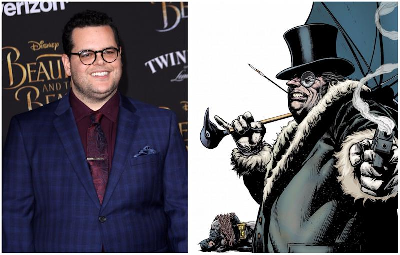 Is Josh Gad joining the DCEU as The Penguin? (Credit: WENN/DC Comics)