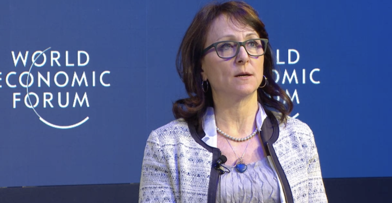 Karin von Hippel, director-general, Royal United Services Institute for Defence and Security Studies, United Kingdom. Source: World Economic Forum