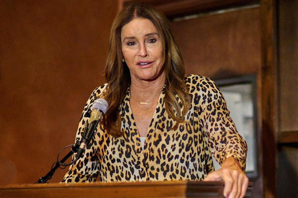 Caitlyn Jenner Election Night Concession Party